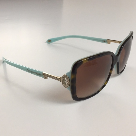 bac4b089fbb0 Tiffany   Co. Crystal Key Sunglasses  TF 4043-B